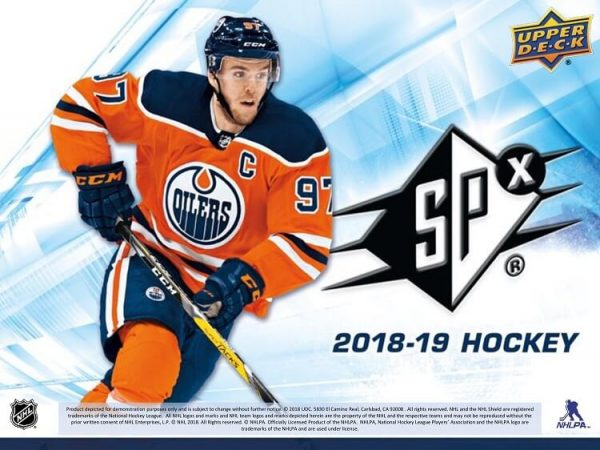 2018-19 Upper Deck SPx Hockey