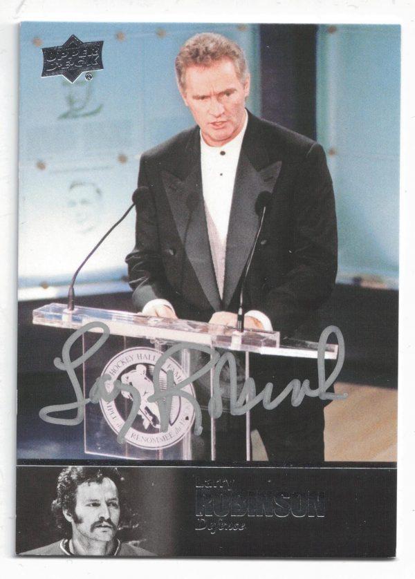 2018-19 Upper Deck Ultimate 1997 Legends Signatures Larry Robinson Group D