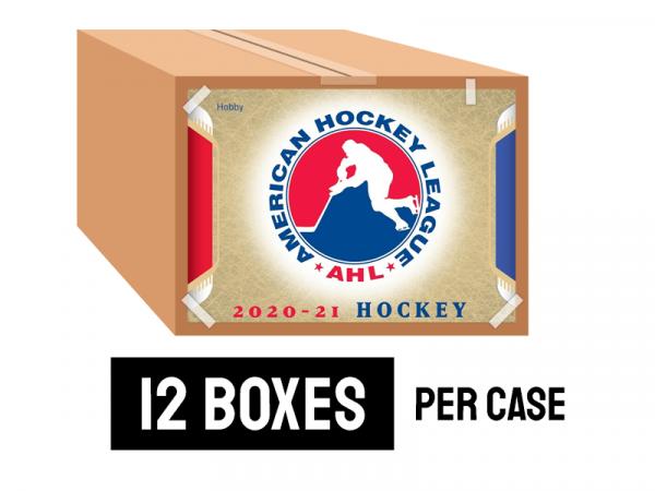 2020-21 Upper Deck AHL Hockey Hobby Case (12 Boxes)