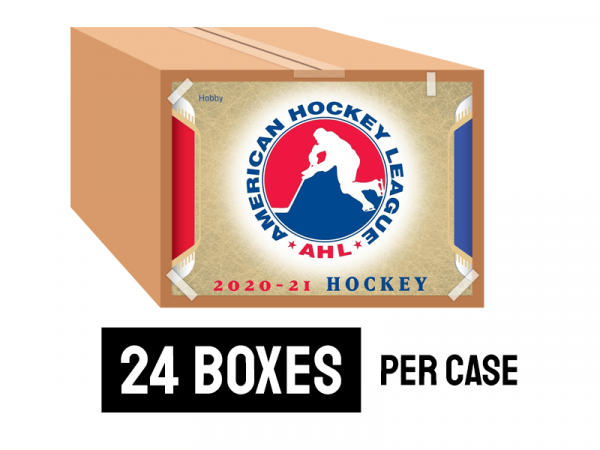 2020-21 Upper Deck AHL Hockey Hobby Case (24 Boxes)