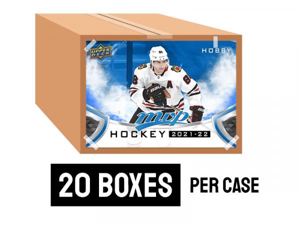 2020-21 Upper Deck MVP Hockey Hobby Case (20 boxes)