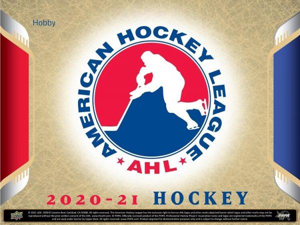 2020-21 Upper Deck AHL Hockey Hobby Box