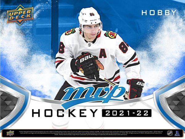2021-22 Upper Deck MVP Hockey Hobby Box