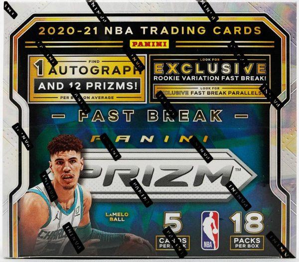 2020-21 Panini Prizm Fast Break Basketball Box