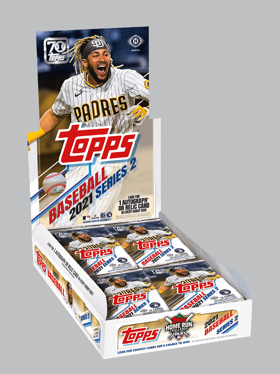 2021 Topps Series 2 Hobby Baseball Box