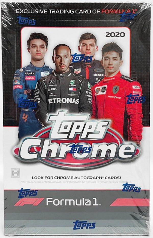 2020 Topps Chrome Formula 1 Racing Box