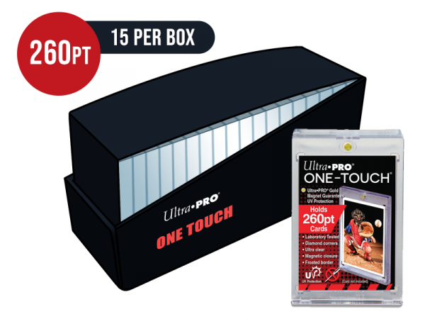 Ultra Pro 260pt Card One Touch Magnetic Closure Box - Box of 15