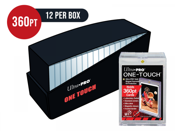 Ultra Pro 360pt Card One Touch Magnetic Closure Box - Box of 12