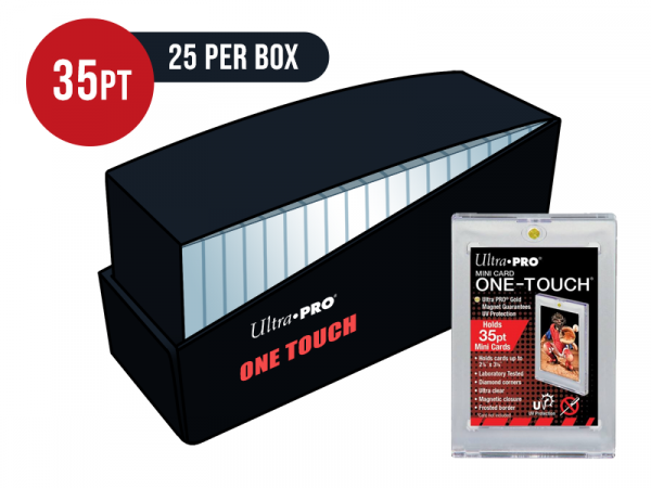Ultra Pro Mini 35pt Card One Touch Magnetic Closure Box - Box of 25