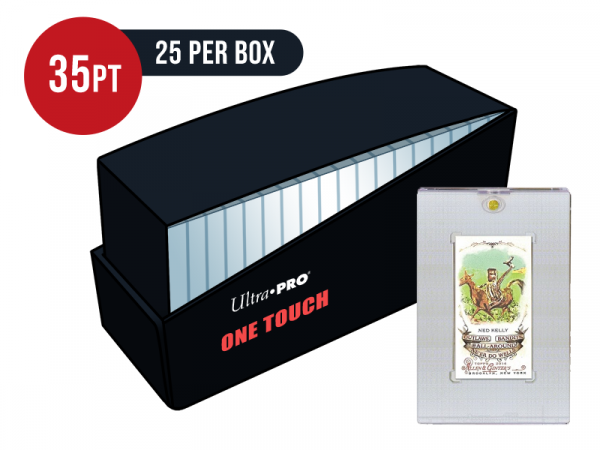 Ultra Pro Tobacco 35pt Card One Touch Magnetic Closure Box - Box of 25