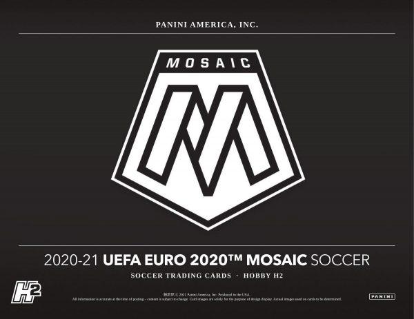 2020-21 Panini Mosaic EURO Soccer UEFA Hobby Soccer