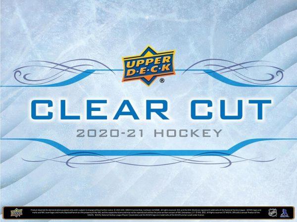2020-21 Upper Deck Clear Cut Hockey Hobby Box