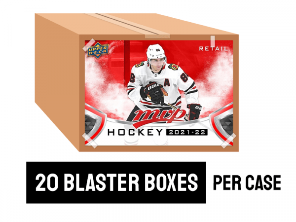 2021-22 MVP Blaster Hockey case - 20 blaster boxes per case
