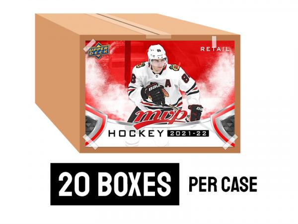 2021-22 MVP Retail Hockey case - 20 boxes per case