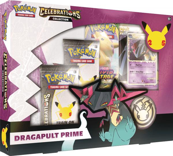 Pokemon Celebrations Collection Box Dragapult Prime