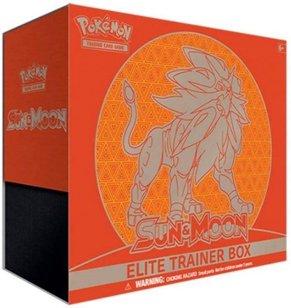 Pokemon Sun & Moon Elite Trainer Box - Solgaleo