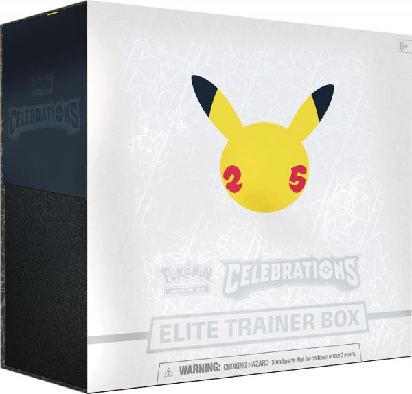 Pokemon Celebrations Collection Elite Trainer Box