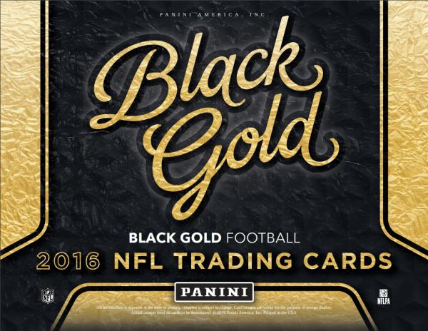 2016 Panini Black Gold Football Box