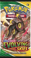 Pokemon Sword & Shield Evolving Skies Booster Pack